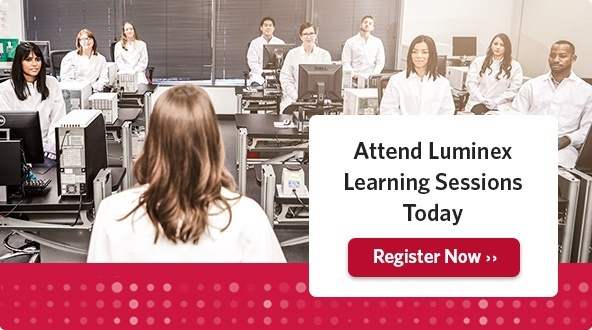 Attend Luminex Learning Sessions Today