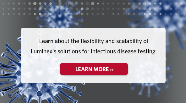 Learn about the flexibility and scalability of Luminex's solutions for infectious disease testing.