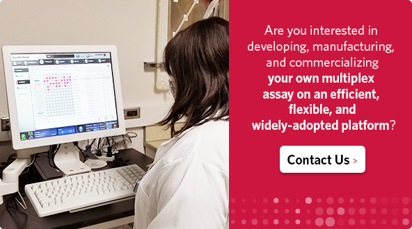 Are you interested in developing, manufacturing, and commercializing your own multiplex assay on an efficient, flexible, and widely-adopted platform?