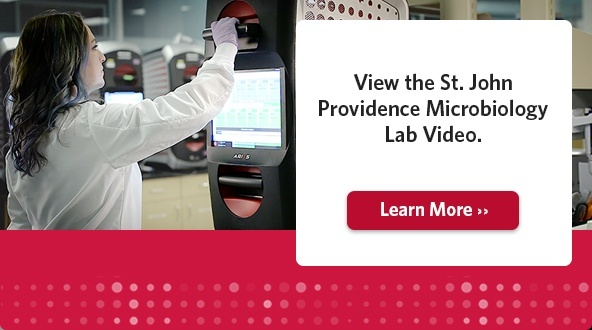 View the St. John Providence Microbiology Lab Video.