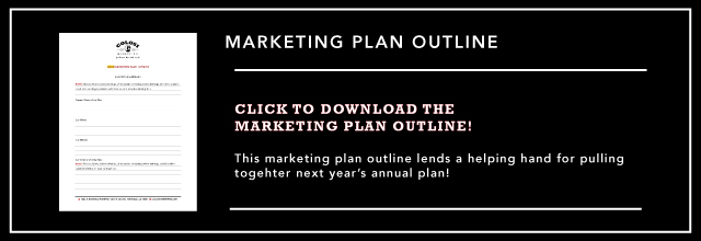 Annual Marketing Plan Outline by Colosi Marketing
