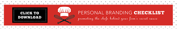 Personal Branding for Professional Services Marketing