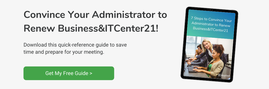 convince your administrator to renew