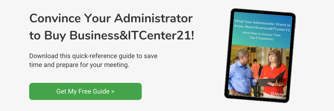 guide to convince your administrator to buy Business&ITCenter21
