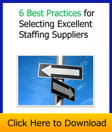 selecting staffing suppliers