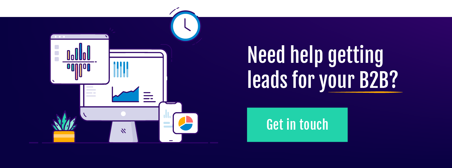 Need help getting leads for your B2B?