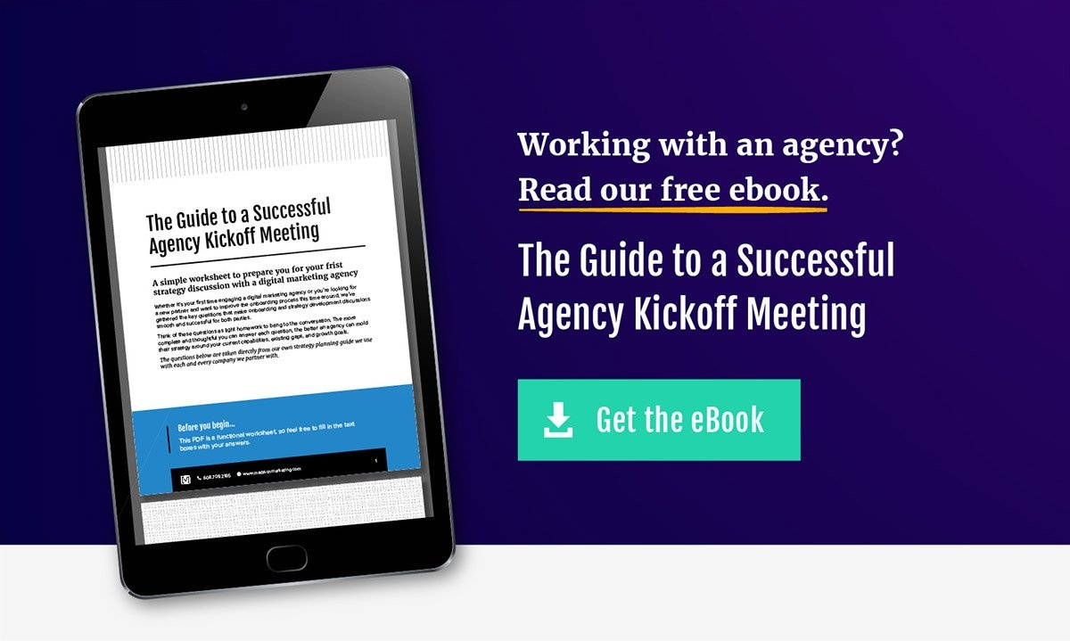 Download our guide to a successful agency kickoff meeting