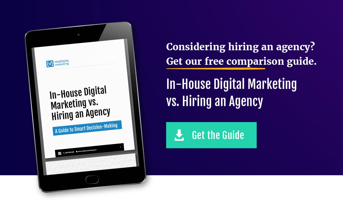 Download our guide to determining whether you should hire an agency