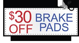 brake pads offer