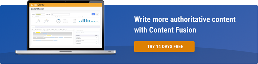 Write more authoritative content with Content Fusion Free for 14 Days