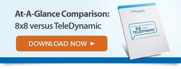 Comparison: Teledynamic versus 8x8