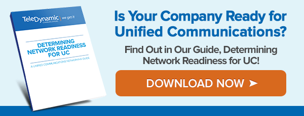 Determining Network Readiness - Unified Communications - TeleDynamic