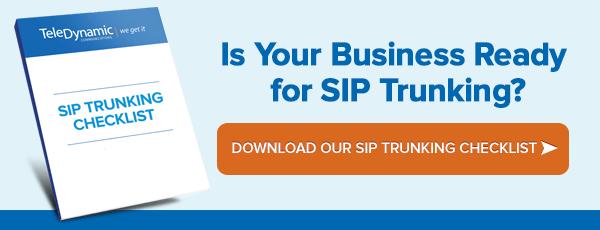 Checklist SIP Trunking