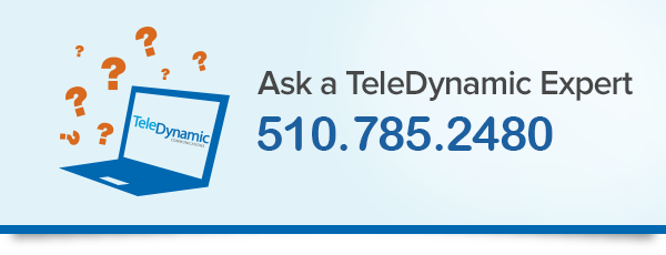 Bay Area VoIP and Virtual PBX Solutions from TeleDynamic