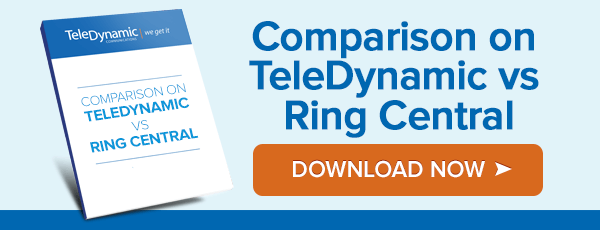 Comparison on TeleDynamic Versus RingCentral