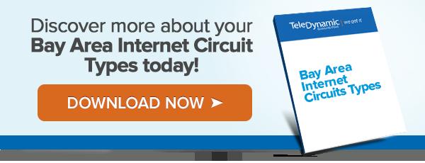Bay Area Internet Circuit Types TeleDynamic