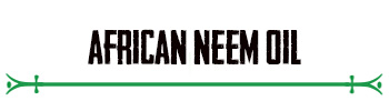 African Neem Oil
