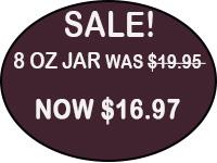 8 oz jar (227g) $19.95