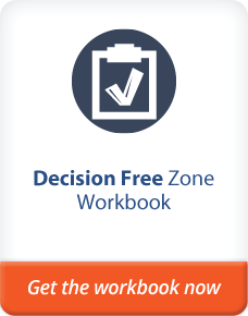 decision free zone work book
