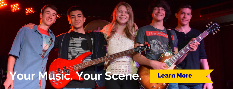 Your Music. Your Scene. Learn More.