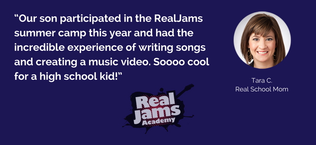 RealJams Summer Music Program