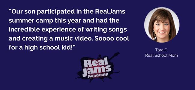 RealJams Summer Music Program