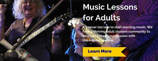 Music Lessons for Adults