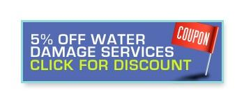 5% off water damage services. Click for discount