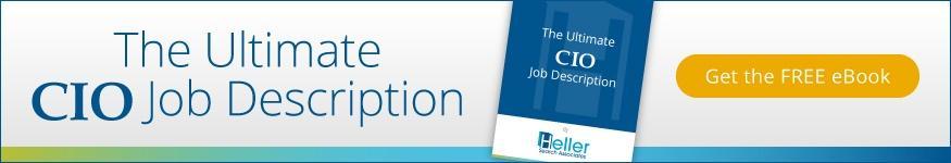 Free E-book Download: Landing Your Next Great CIO Job.