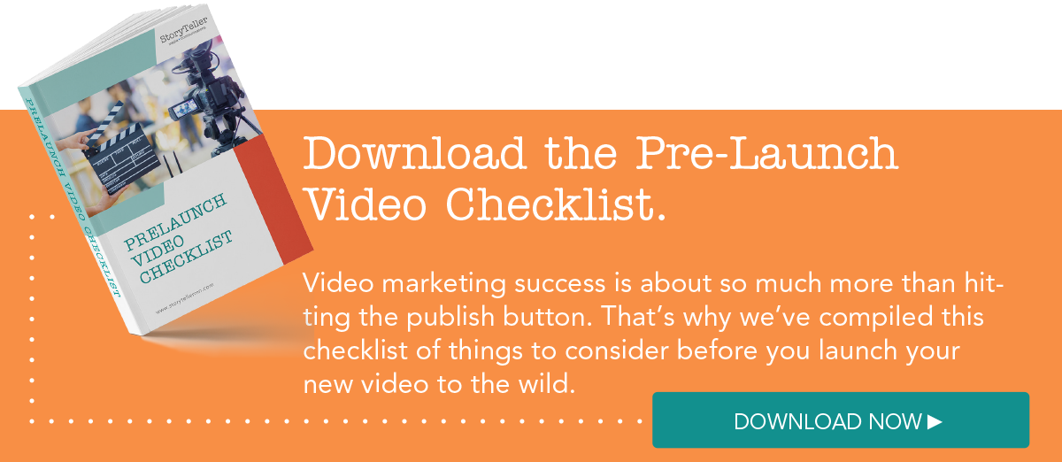 Video Launch Checklist