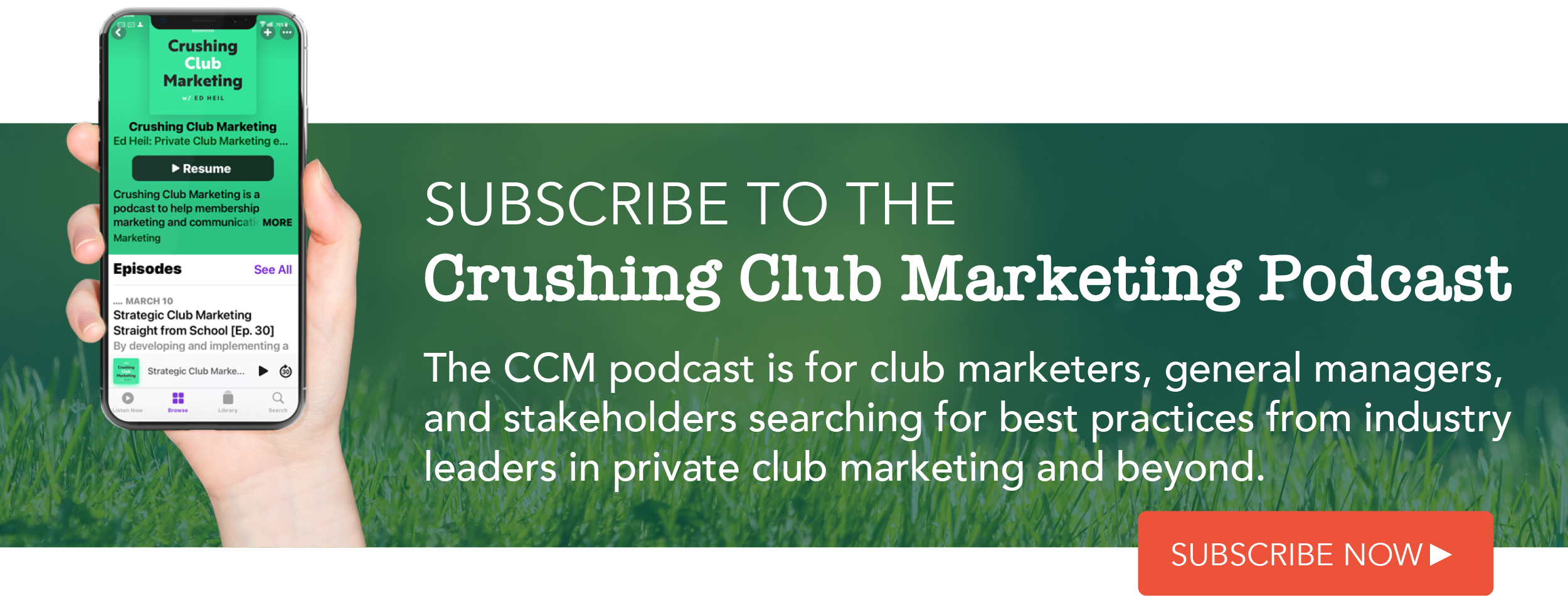 Crushing Club Marketing Podcast