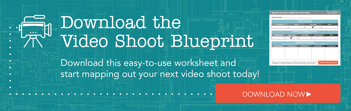 Download the video shoot blueprint today!