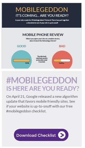 E3 Mobilegeddon Checklist
