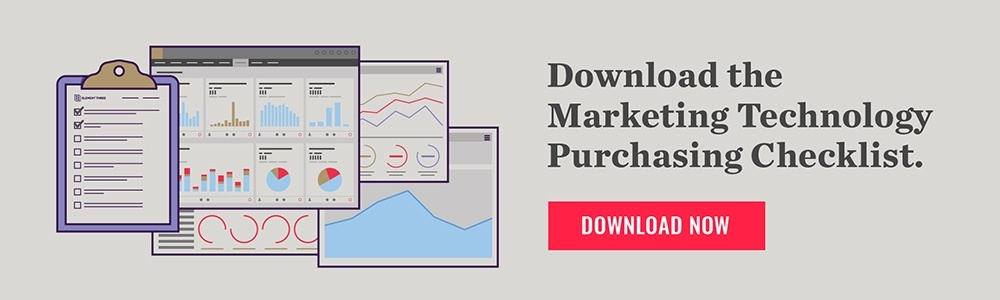 Download the Marketing Technology Purchasing Checklist