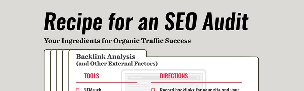 Recipe for an SEO Audit Download