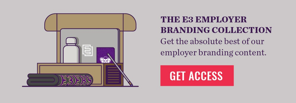 E3 Employer Branding Collection CTA