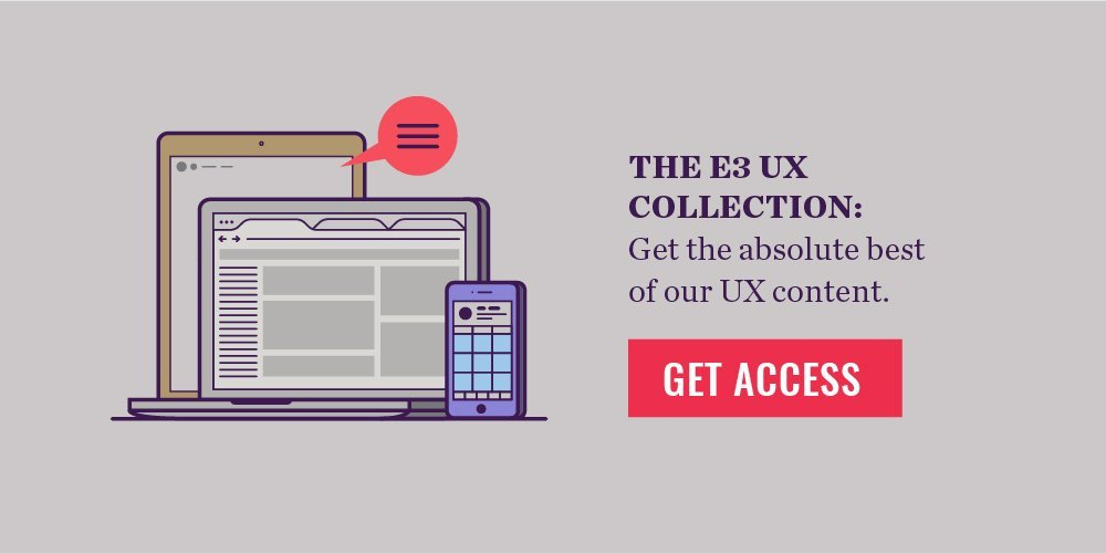 UX Collection CTA