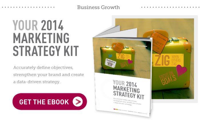 Your 2014 Marketing Strategy Kit: Accurately define objectives, strengthen your brand and create a data-driven strategy with this eBook
