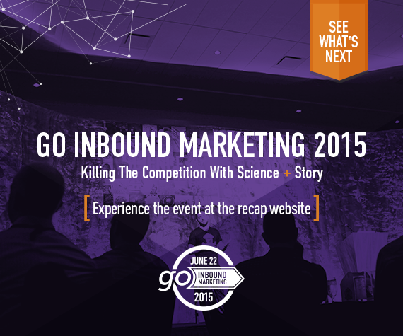 Go Inbound Marketing 2015 Recap Site