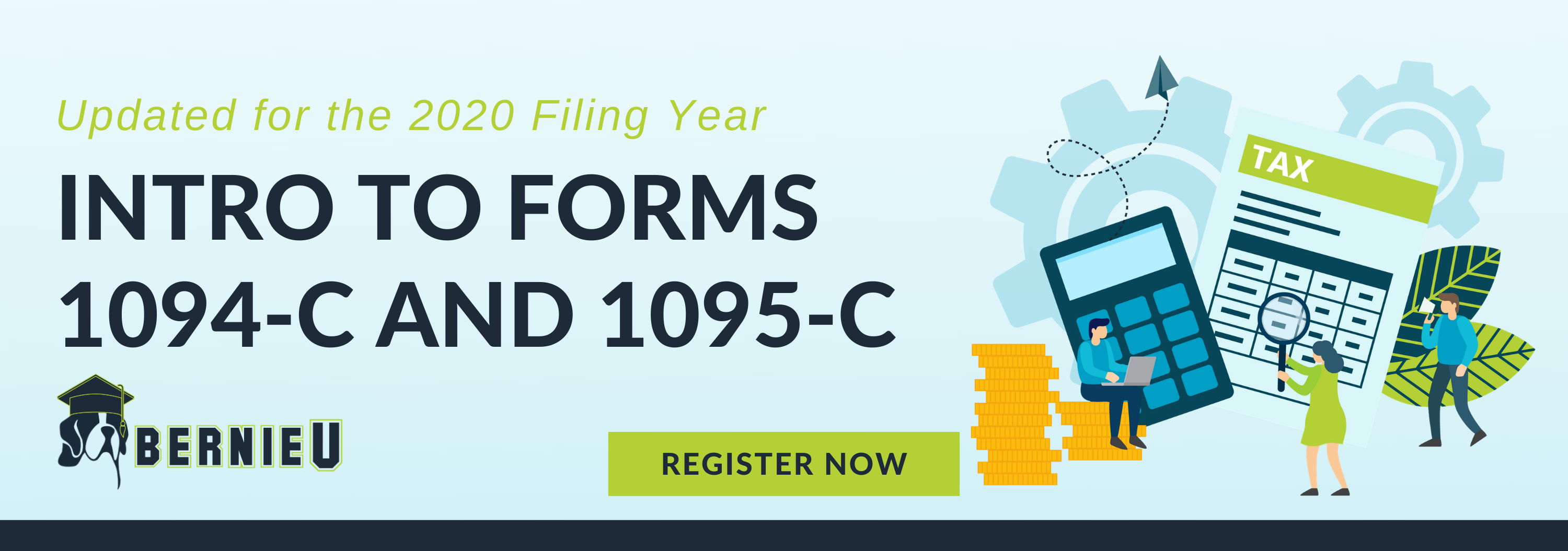 Intro to Forms 1094-C and 1095-C BernieU Course blog Call to Action
