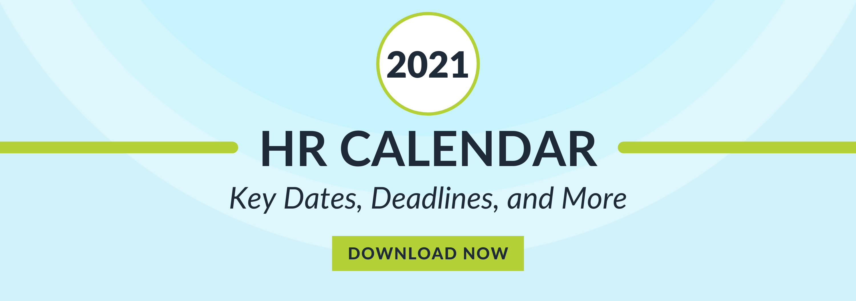 2021 HR Calendar Call to Action