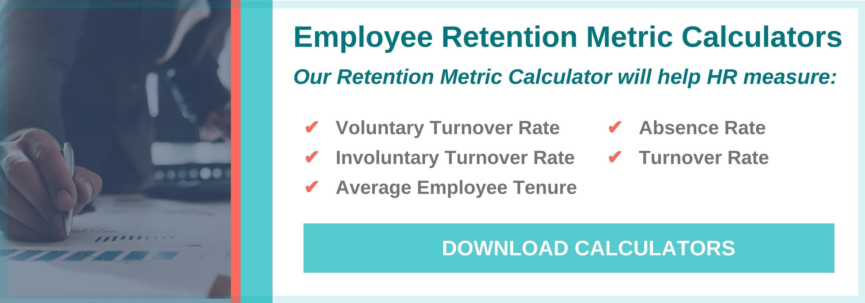 Employee Retention Metrics Calculators CTA