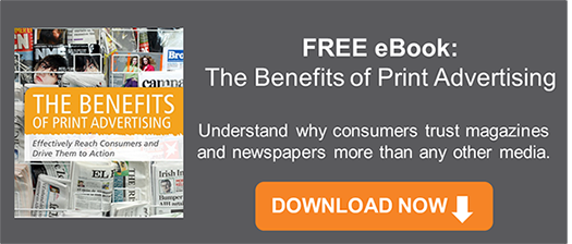 Free eBook: The Benefits of Print Advertising
