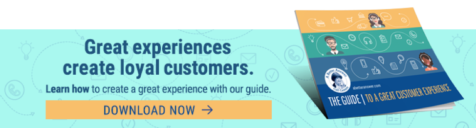 Great experiences create loyal customers.  Learn how to create a great experience with our guide.  Download now