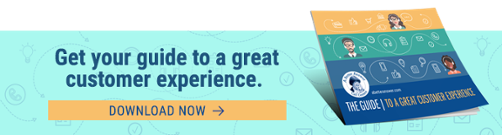Get your guide to a great customer experience.  Download now