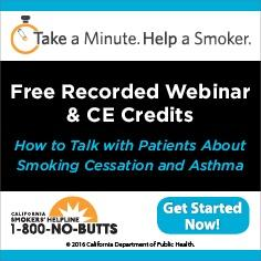 Free Continuing Education Course--Smoking and Asthma