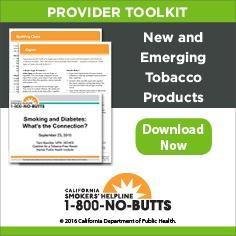 Provider Toolkit-New and Emerging Tobacco Products