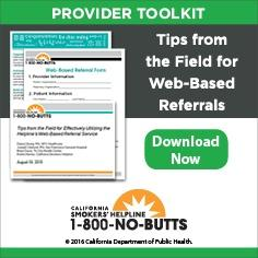 Provider Toolkit-Web-Based Referrals