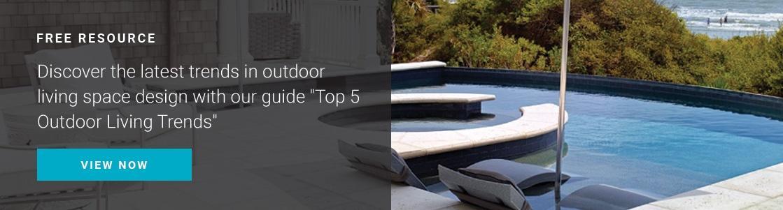top 5 outdoor living trends