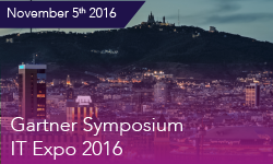 Gartner IT Symposium/Expo 2016